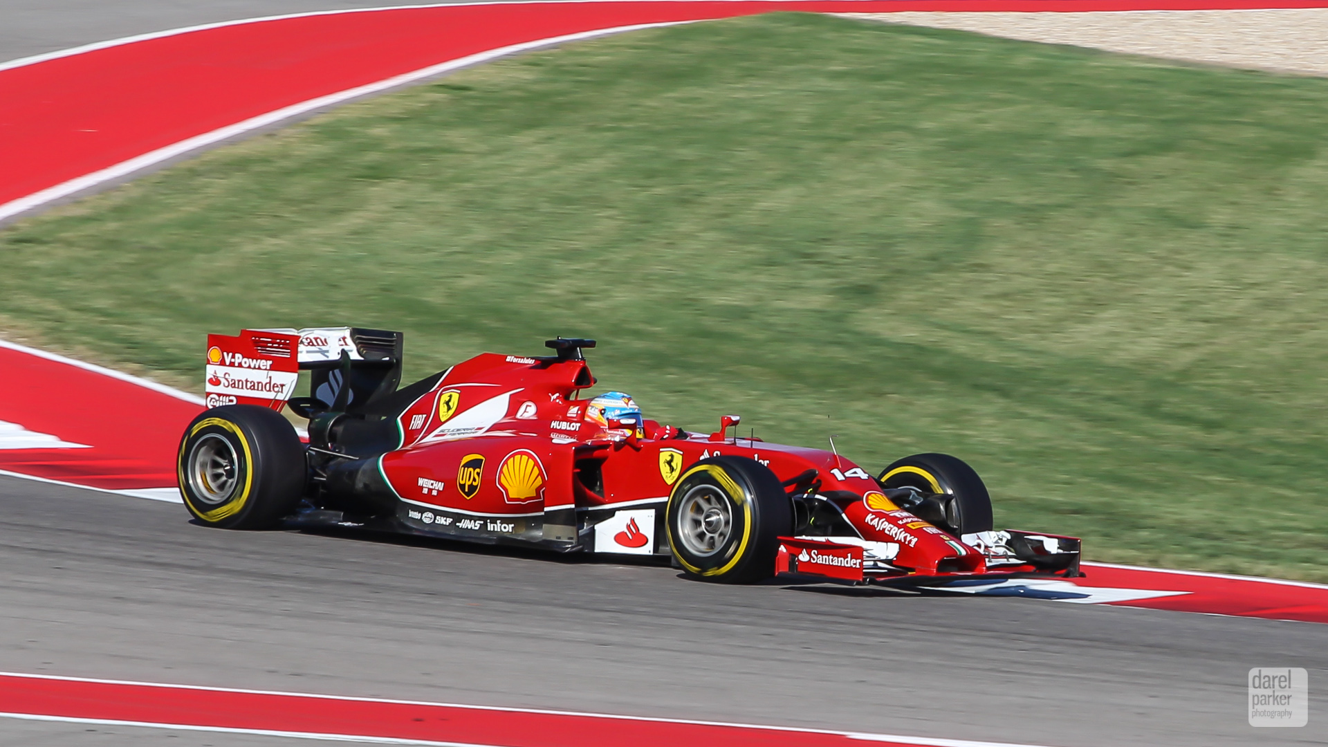 Fernando Alonso's Ferrari F14-T