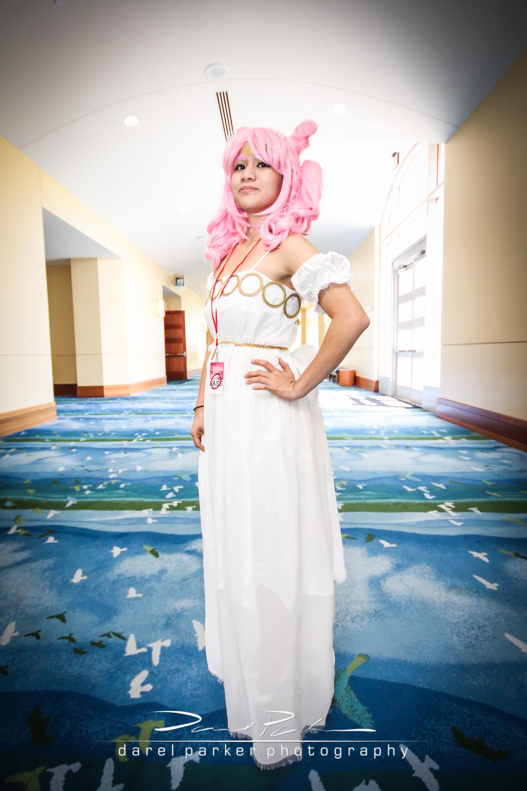 Sheena as Sailor Mini Moon